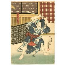 歌川国貞: Danshichi - kabuki - Artelino