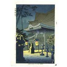 藤島武二: Night Scene of Kitano Shrine - Artelino