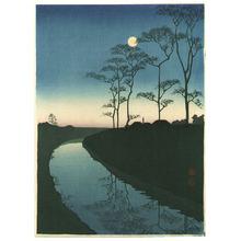Koho: Canal by the Moonlight - Artelino