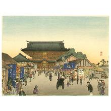 Arai Yoshimune: Temple Front Gate - Artelino