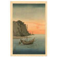 Yoshimoto Gesso: Fishermen Going Home - Artelino