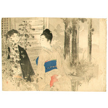 Mizuno Toshikata: Kuchi-e - Artelino