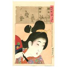 豊原周延: Genroku - Jidai Kagami - Artelino
