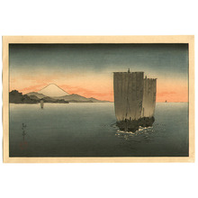 Koho: Boats and Mt.Fuji - Artelino