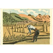 前川千帆: Working in the Field - Girl from the Field - Artelino