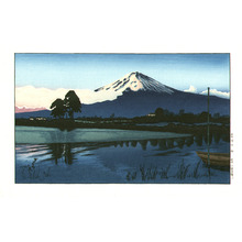 Okuyama Gihachiro: Dawn at Mt.Fuji - Artelino