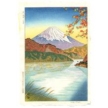 Okada Koichi: Mt. Fuji and Lake Ashinoko - Artelino