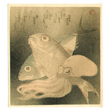 Unknown: Fish and Octopus - Artelino