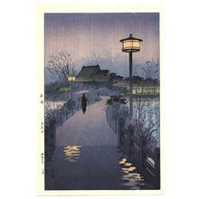笠松紫浪: Night Rain - Artelino