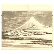 Unknown: Mount Fuji in a Fine Day - 100 Views of Mt.Fuji - Artelino