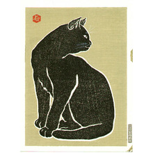 代長谷川貞信〈3〉: Black Cat - Artelino