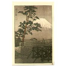 Kawase Hasui: Kawai Bridge - kawaibashi - Artelino