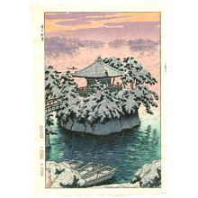 Kasamatsu Shiro: Snow at Matsushima - Artelino