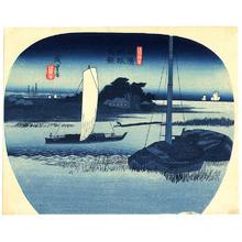 歌川広重: Buyo Tone - Shokoku Meisho - Artelino
