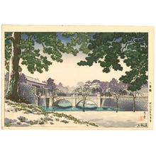 風光礼讃: Niju-bashi Bridge - Artelino