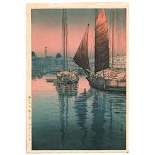 風光礼讃: Sunset at Tomonotsu - Artelino