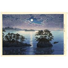 川瀬巴水: Twin Island at Matsushima - Artelino