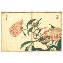 Kitao Shigemasa: Birds and Peony - Artelino