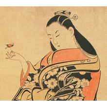 Torii Kiyonobu II: Ancient Beauty - Artelino