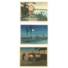 Takahashi Hiroaki: Three Miniature Prints - Artelino