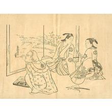 Okumura Masanobu: Pleasure Quarter - Artelino
