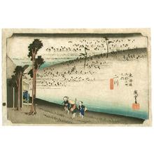 Utagawa Hiroshige: Futagawa - Tokaido Gojusan Tsugi no Uchi (Hoeido) - Artelino