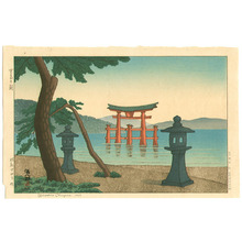 Okuyama Gihachiro: Morning at Miyajima - Artelino