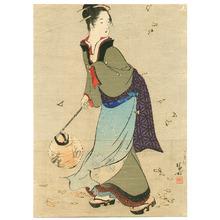 Kaburagi Kiyokata: Bell at Hachiman - Artelino