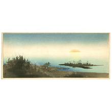 Yoshimoto Gesso: Coastal Sunrise - Artelino