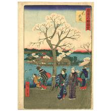 Utagawa Hiroshige III: Shinobazu - Famous Places of Tokyo - Artelino
