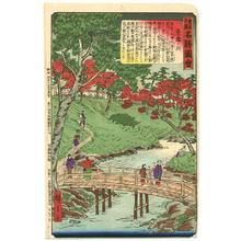 Utagawa Hiroshige III: Takinokawa - Famous Places of Tokyo - Artelino