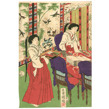 Utagawa Kuniaki: Meiji Imperial Household - Artelino