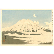 Tokuriki Tomikichiro: Mt.Fuji in Clouds - Thirty-six Views of Mt.Fuji - Artelino