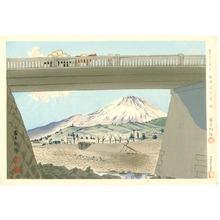 Tokuriki Tomikichiro: Fujimi Bridge - Thirty-six Views of Mt.Fuji - Artelino