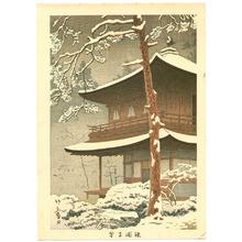 藤島武二: Silver Pavilion in Snow - Artelino