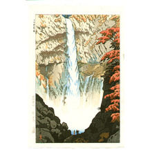 笠松紫浪: Kegon Waterfall - Artelino