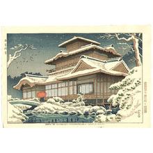 Fujishima Takeji: Snow in Hiunkaku - Artelino