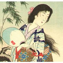 Toyohara Chikanobu: Moon Reflection - Setsu Getsu Ka - Artelino