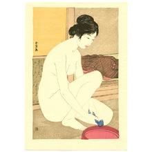 橋口五葉: Bathing - Artelino
