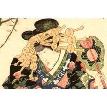 Utagawa Kunisada: Beauty Sumo Referee - Artelino
