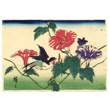 Utagawa Hiroshige III: Bird on Morning Glories - Artelino