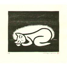 Henmi Takashi: Sleeping Cat - Artelino