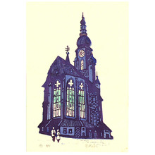 Kato Yasu: Holy Ghost Church in Heidelberg - Artelino