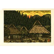 Nishijima Katsuyuki: Sunset Sky at Hozaka - Artelino
