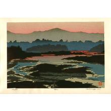 Nishijima Katsuyuki: Lake in Evening - Artelino