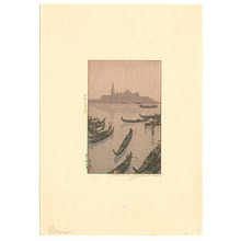 吉田博: The Evening in Venice - Artelino