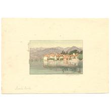 吉田博: Isola Bela - Artelino