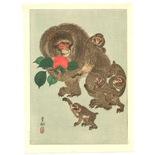 小原古邨: Mother and Babies - Artelino
