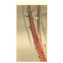 Ohara Koson: Birds and Red Ivy - Artelino