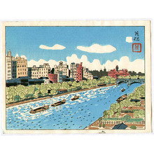 萩原秀雄: River in Osaka - Artelino